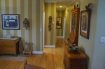 Hallway to Master bedroom, 2nd bedroom, Kitchen & Main Bathroom